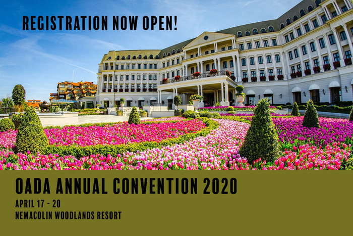 OADA 2020 Convention Registration