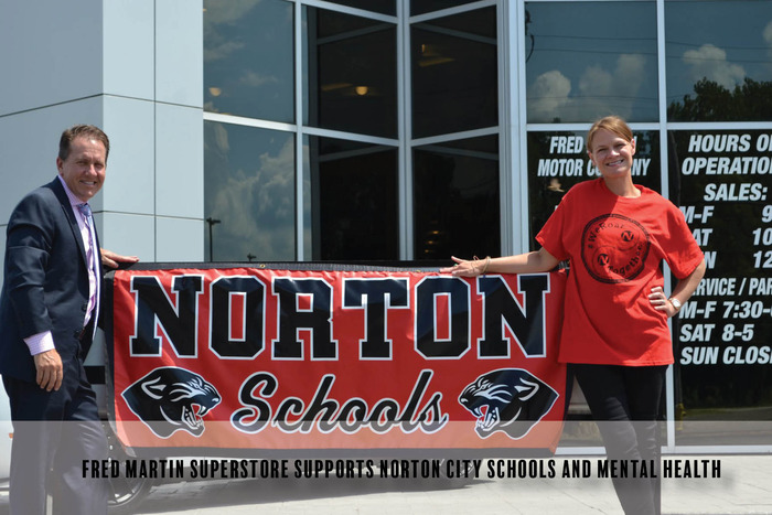 Fred Martin Superstore Supports Norton City Schools and Mental Health