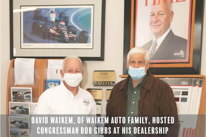 Dave Waikem And Congressman Gibbs