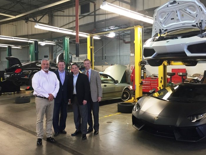 Midwestern Auto Group Hosts Rep Mike Duffey