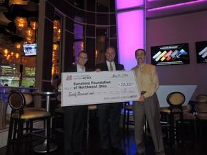 Paul Devers presents $20,000 to Sunshine Foundation of Northwest Ohio